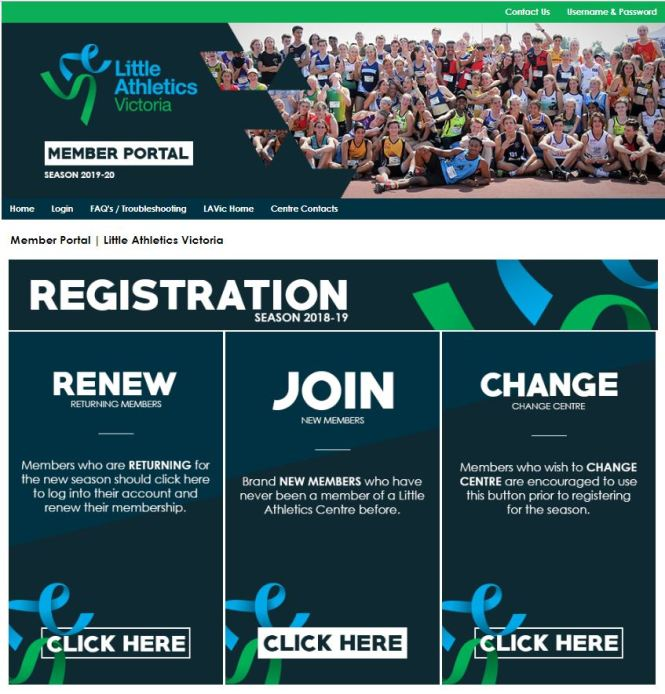 Registration Portal 2019_2020_Landing Page